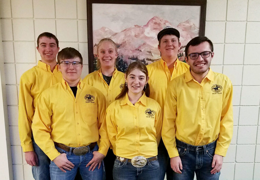 EWC livestock judging team attends Nebraska FFA