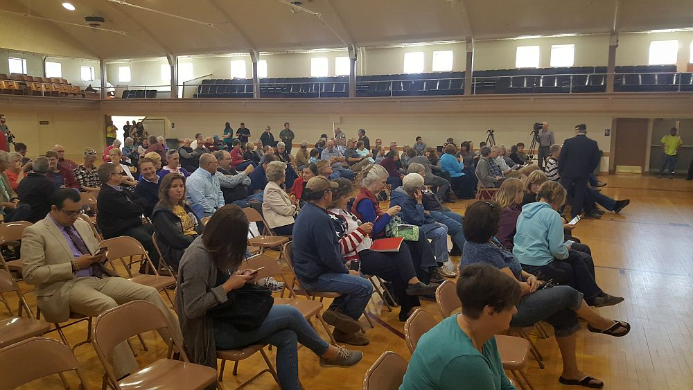 200 People Attend Contentious Fischer Town Hall Meeting