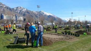 Aggies dig landscape challenge in Utah