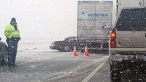 (AUDIO) Travel not recommended in west-central Nebraska, I-80 EB closed at Overton