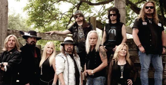 Rock icons Lynyrd Skynyrd performing for the Nebraska State Fair