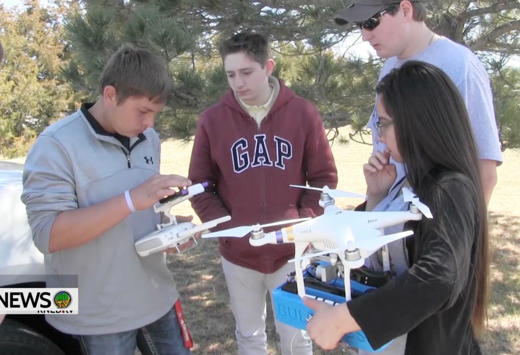 Students use drones in project to assist agriculturalists