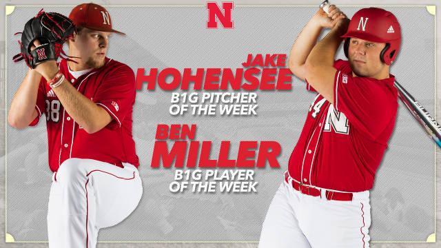 Hohensee, Miller Earn Big Ten Weekly Honors