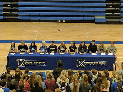 Kearney Holds Signing Day