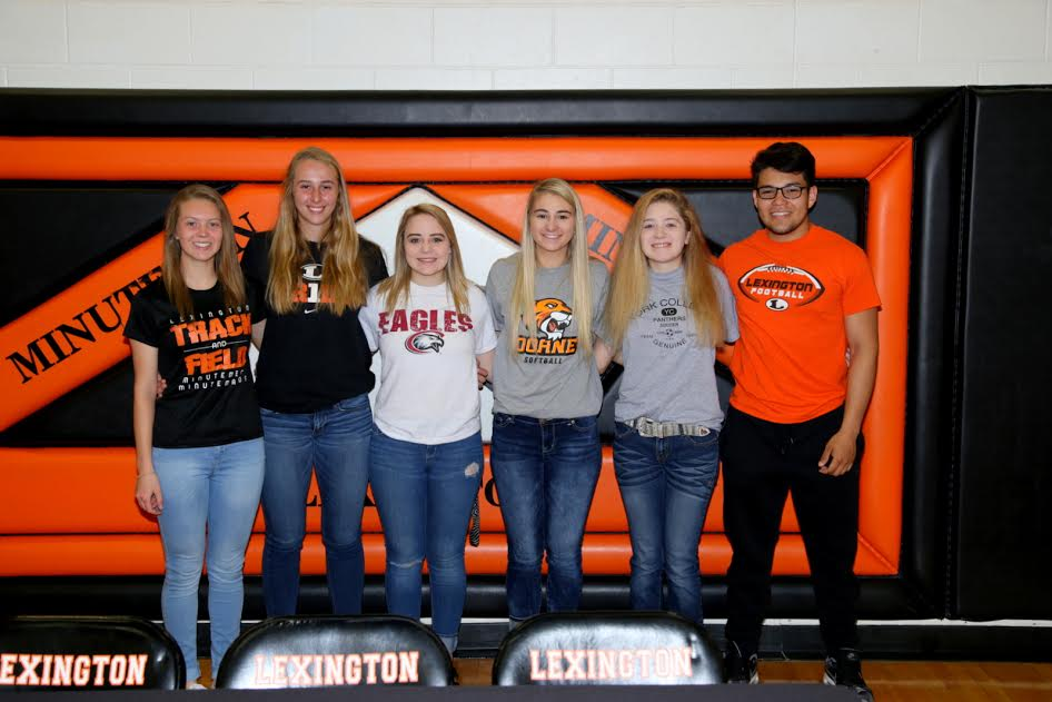 Signing Day At Lexington High School