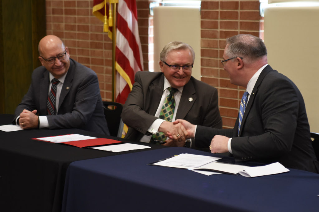 Northeast Community College and Mount Marty College sign MOU articulation agreement