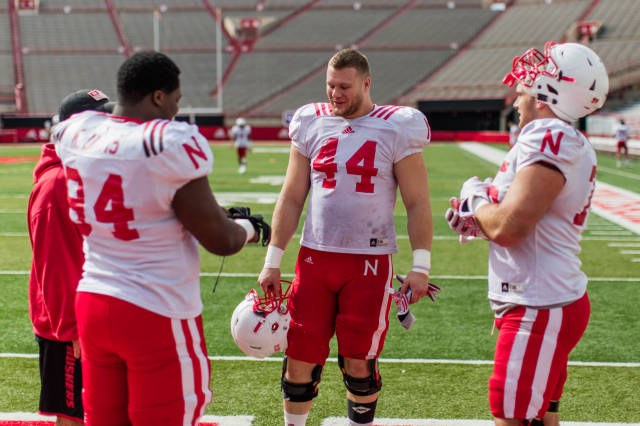 Veterans Lead Huskers Into Spring Game