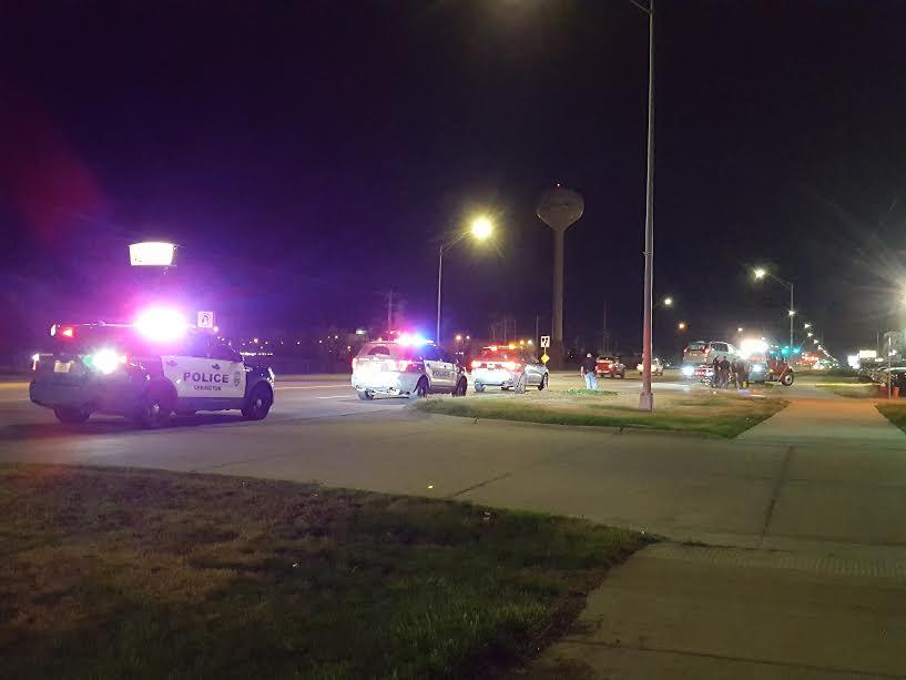 Non-injury crash on South Highway 283, Lexington