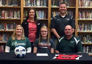 (AUDIO) Howells-Dodge's Brester signs to play volleyball at Northeast