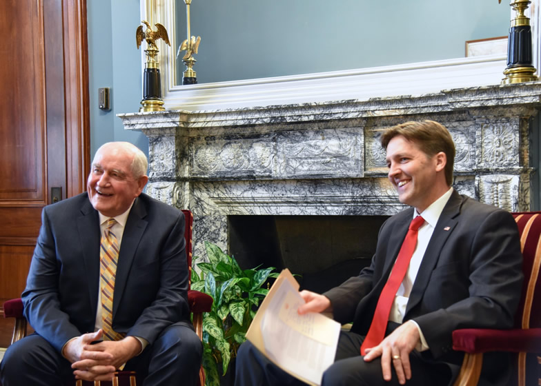Sasse to New Agriculture Secretary: