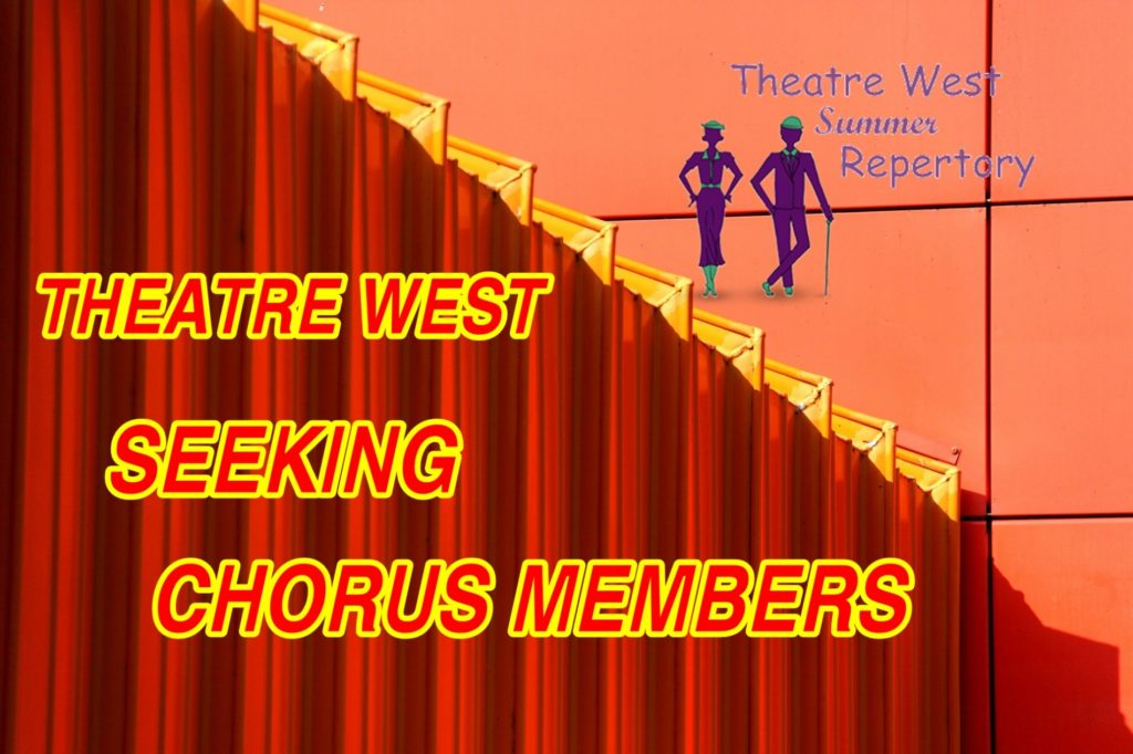 Theatre West seeks chorus members for summer musical