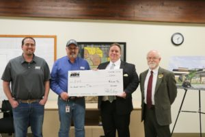 EWC receives donation of $10,000 from Black Hills Energy