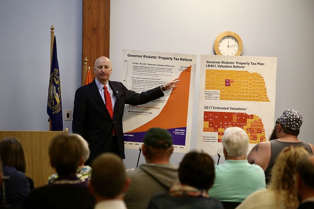Ricketts In Lexington For Town Hall On Wednesday