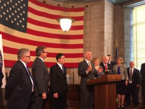 Gov. Ricketts Signs Major Veterans' Legislative Package
