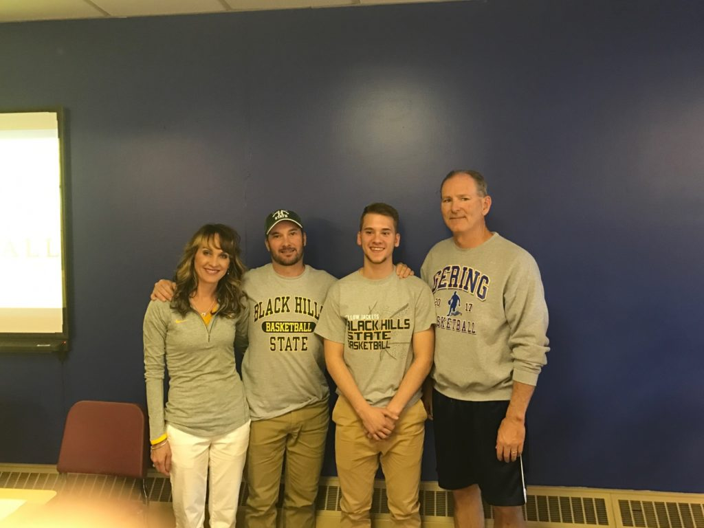 (AUDIO) Gering's Trey Winkler signs with Black Hills State