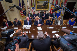 "Perdue Joins White House ""Farmers Roundtable"" as President Trump Issues Executive Order on Agriculture"