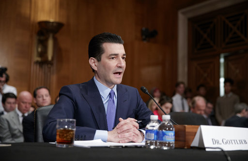Senate confirms Gottlieb as FDA commissioner