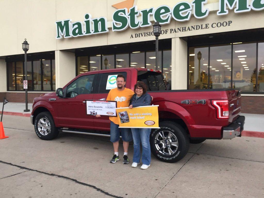 Scottsbluff man wins grand prize in Truck$ & Buck$ contest