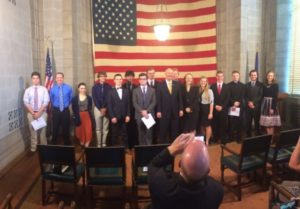 Governor recognizes Nebraska students with top test scores