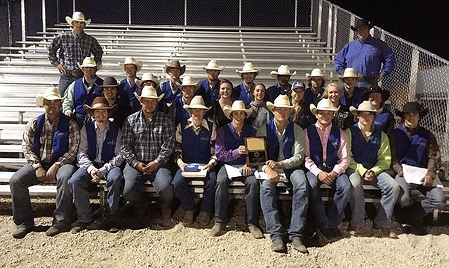 MPCC Rodeo Team wins regional championship