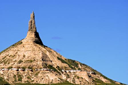 Nebraska's Chimney Rock gets brighter LED lights