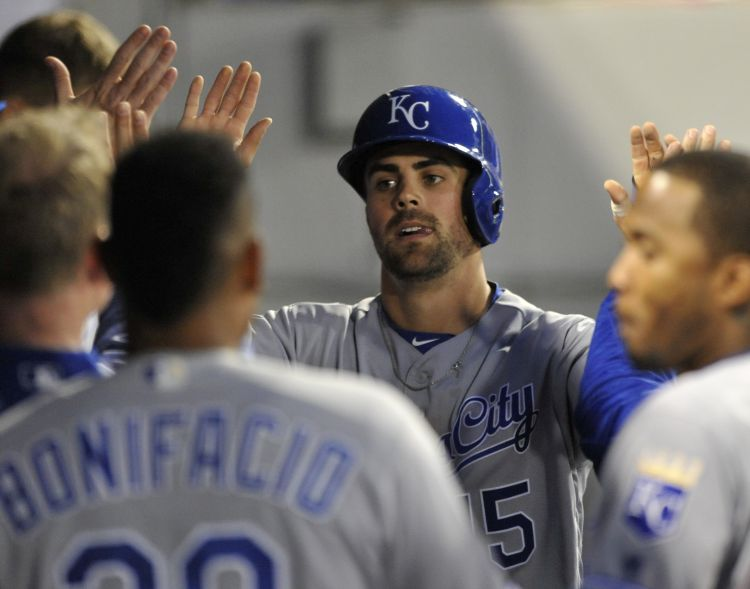 Moustakas, Vargas named Royals player, pitcher of the month