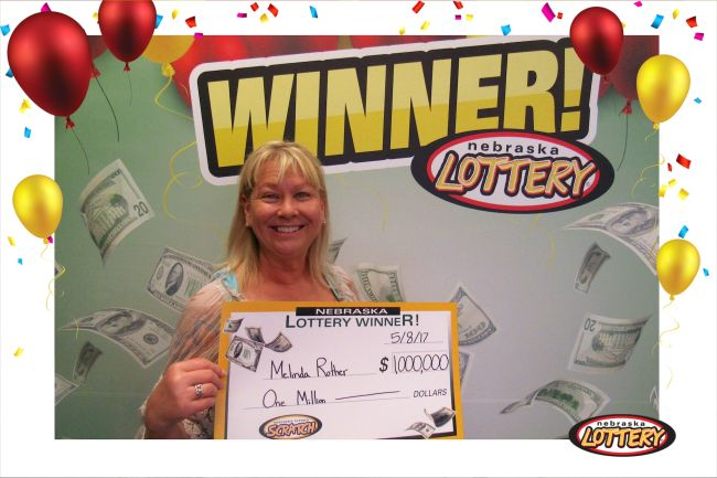 Grand Island woman claims $1M Powerball prize
