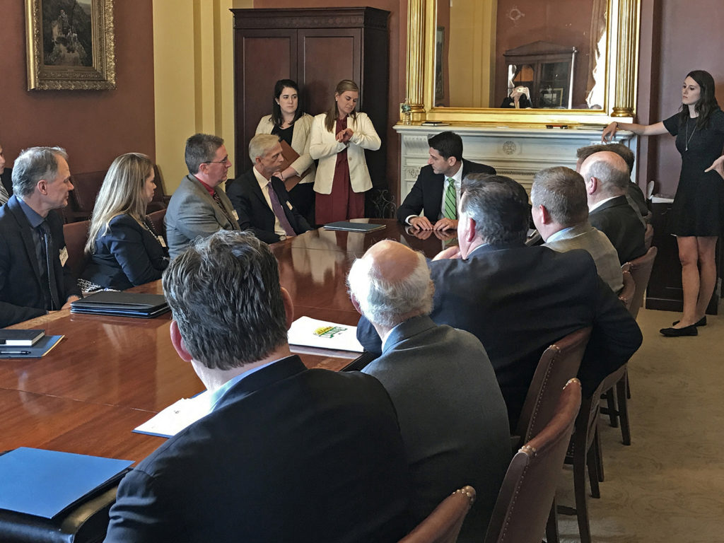 NMPF, USDEC Organize Dairy Fly-In on Capitol Hill to Build Support for Trade with Canada, Mexico