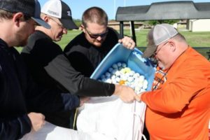 (Video) Golf Balls Help Raise Money For Lexington Football Program