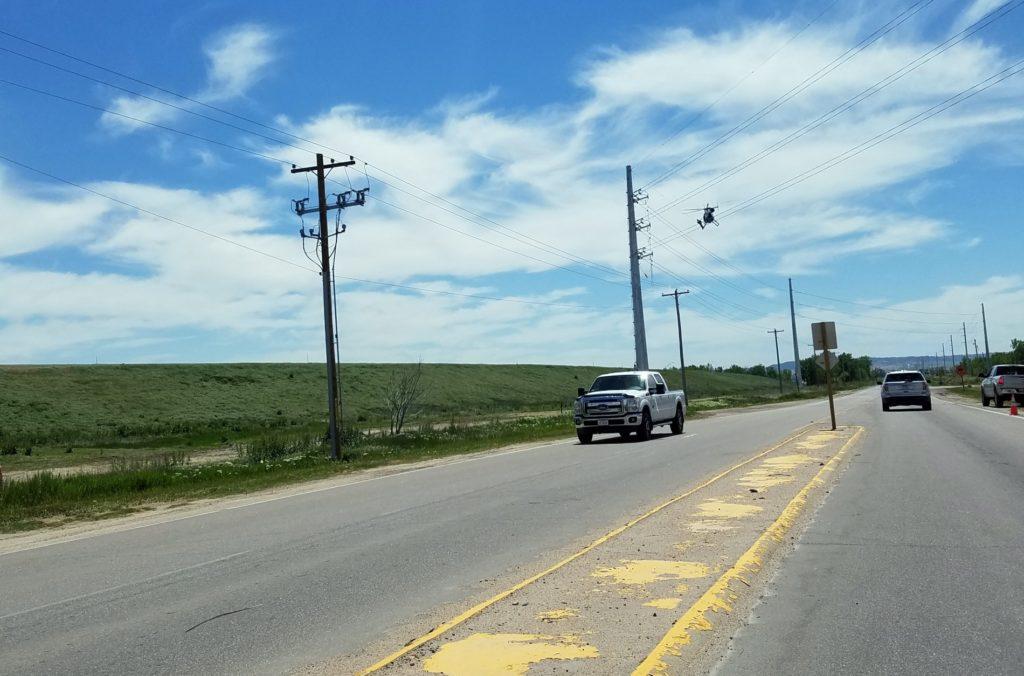 NPPD transmission line work generates curiosity