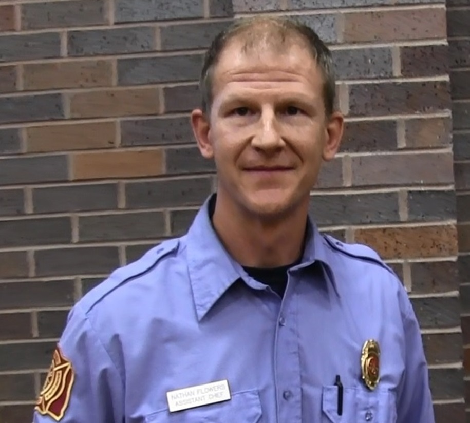 Nathan Flowers named as new Gering Fire Chief