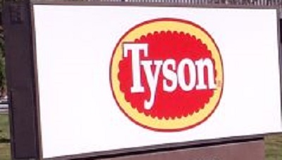 Tyson Foods profit falls as plant fires hurt production