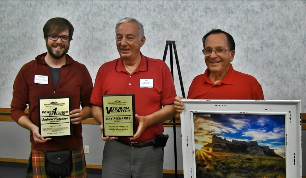Trio honored for their support of local tourism