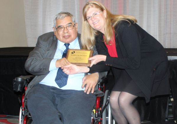 GIVH Member Receives Resident of the Year Award