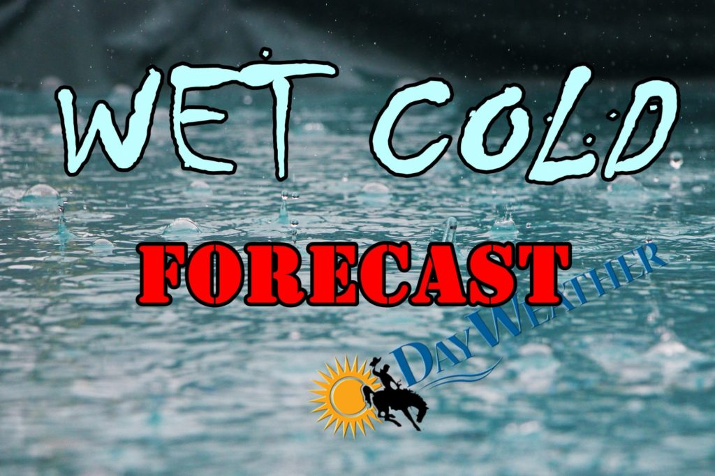Wet and cold weather forecast by end of this week