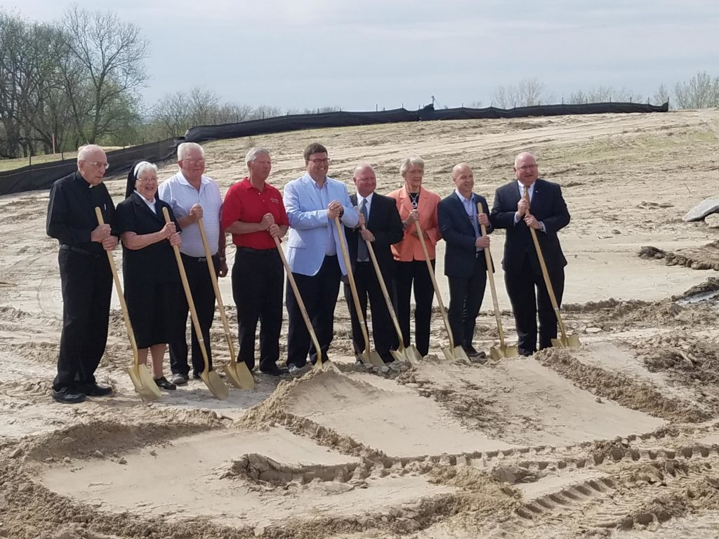 (Audio) Groundbreaking Held For New St. Joseph Hillside Villa Nursing Home In West Point