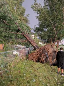 Strong storm leaves its mark on Scottsbluff and beyond Tuesday evening