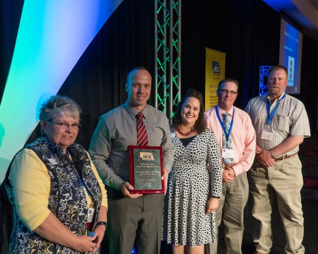 Scottsbluff High School gets top honors at annual conference