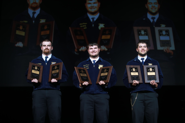 KS FFA Members Recognized as State Stars