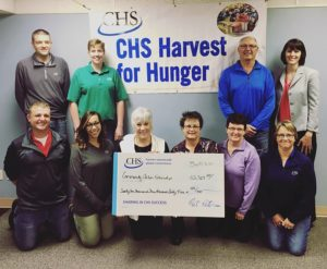CHS Holdrege Supports Local Food Shelves with Harvest for Hunger