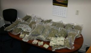 North Platte Police confiscate 22 pounds of pot & cash