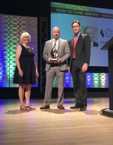 RFA's Cooper Receives 2017 High Octane Award