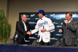 Royals agree to terms with first-round pick Nick Pratto
