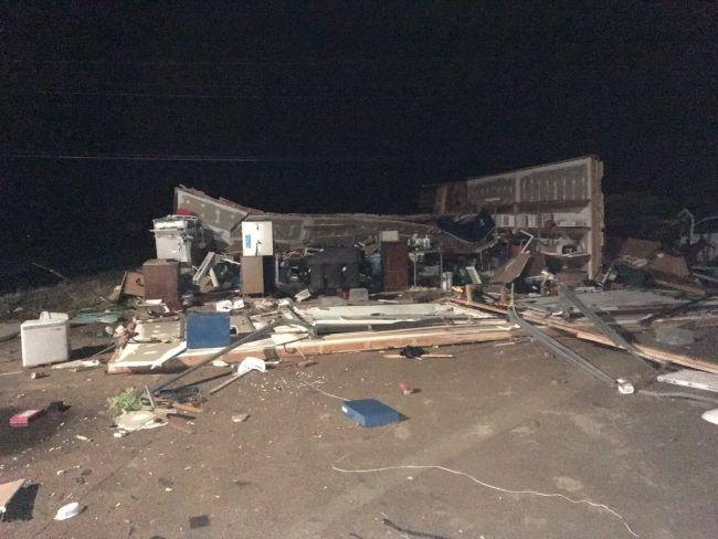 Suspected tornado tears roof off Nebraska nursing home