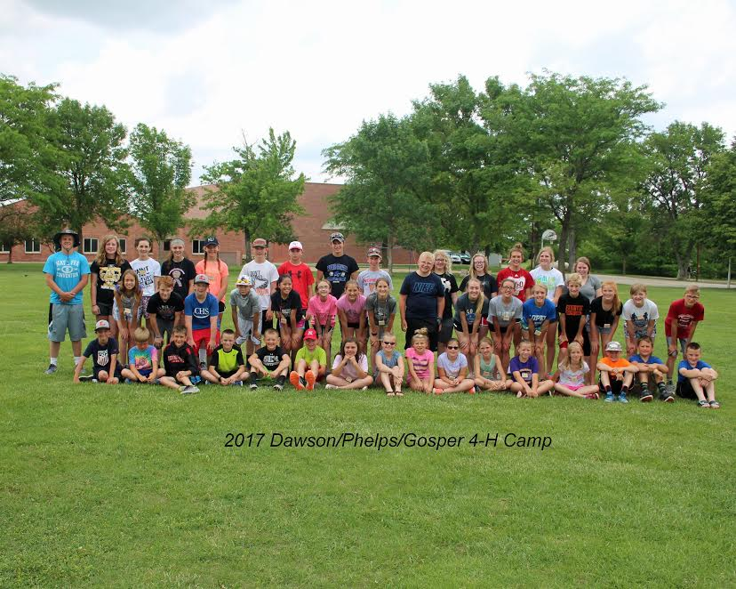 SUCCESSFUL 4-H CAMP AT COMECA