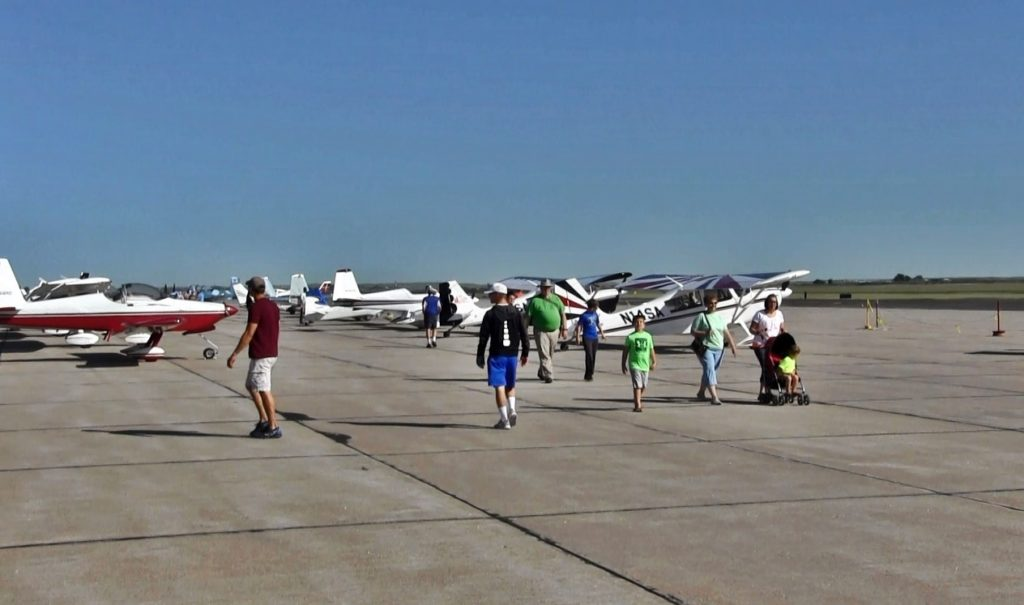 Nice turnout for Annual Airport Appreciation Day and Fly In