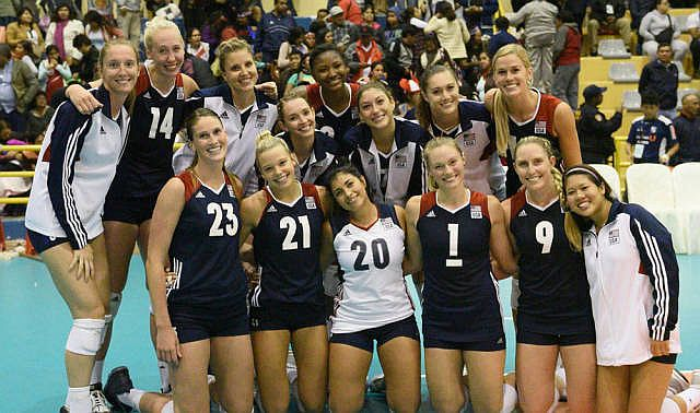 Former Huskers Play For Team USA
