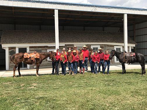 The 2017 Pony Express Re-Ride Makes It's Way Through Nebraska.