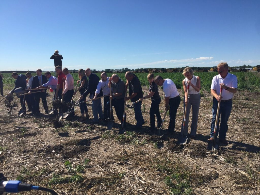 Groundbreaking held today for a $300 million poultry processing facility