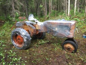Last Homesteader's tractor in Alaska rescued from wilderness